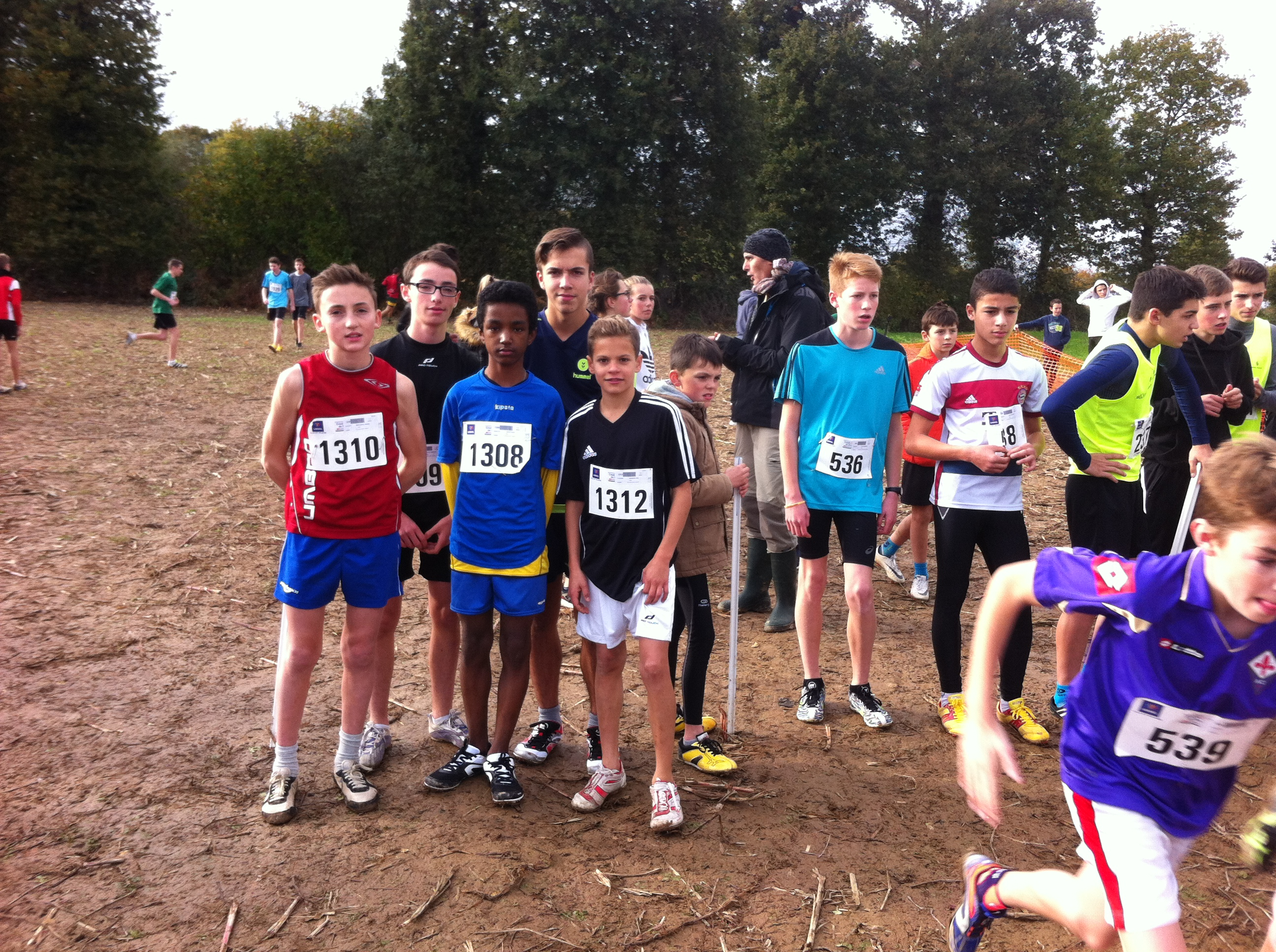 CROSS  DEPARTEMENTAL 2016