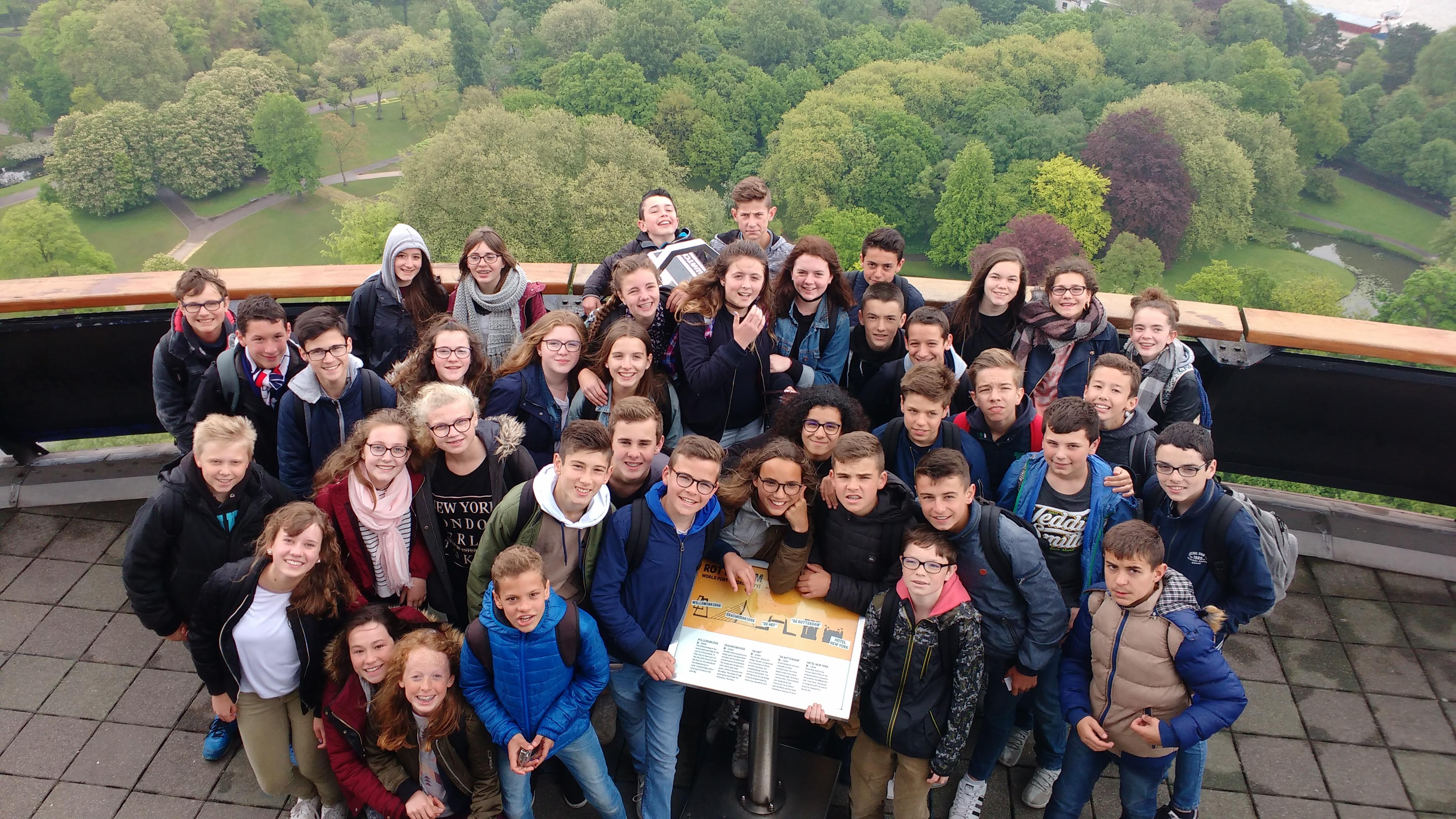 Échange avec les Pays-Bas…témoignage de deux élèves