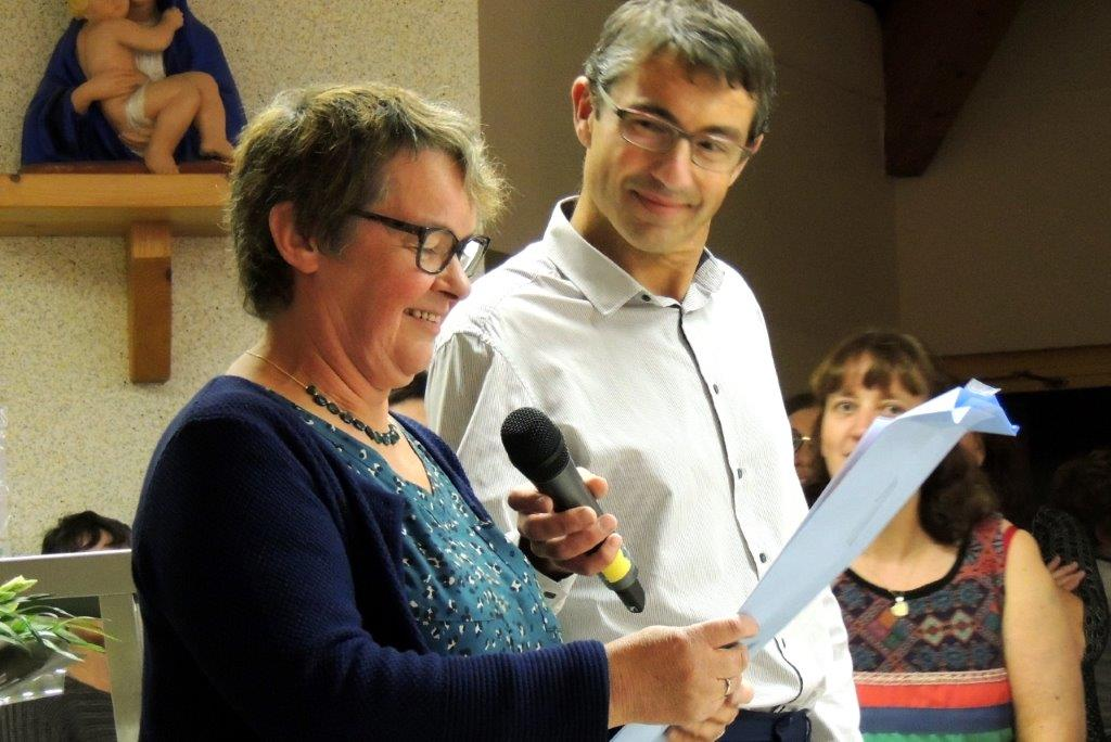 Fête du départ en retraite de Chantal Mazurais