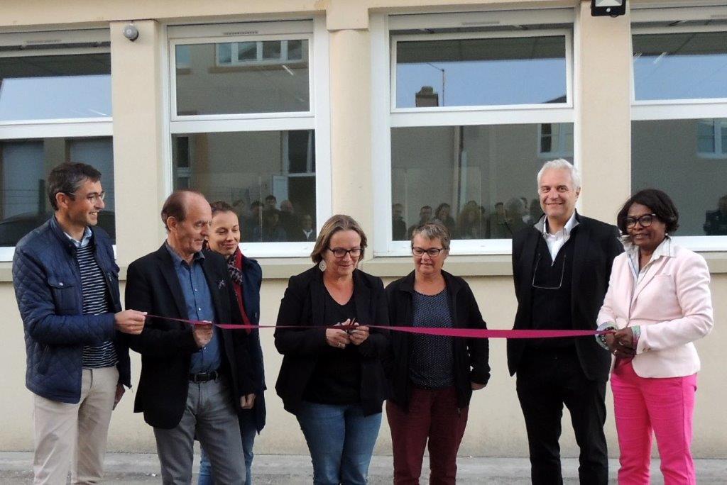 Inauguration des nouvelles salles de classe