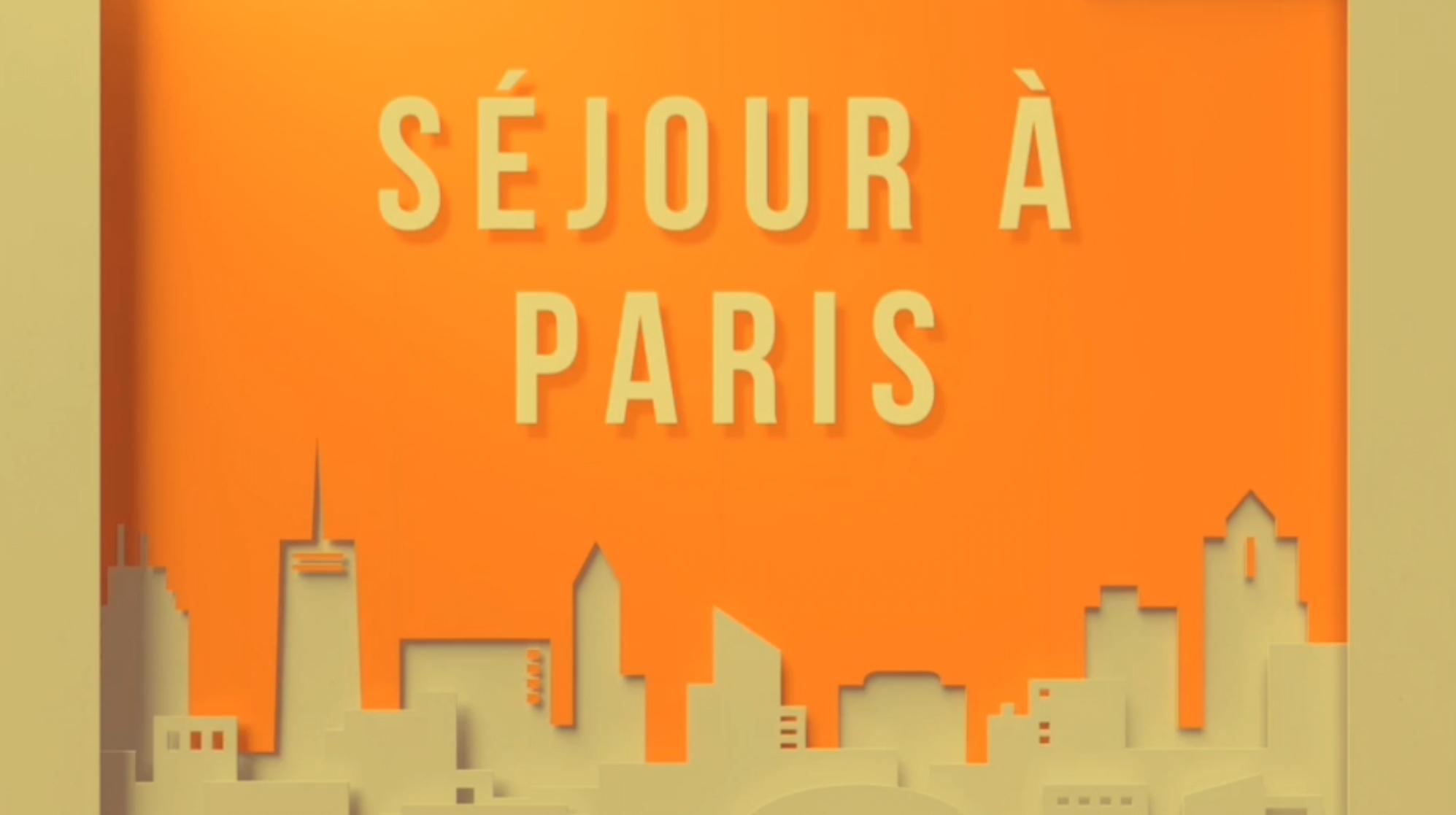 VOYAGE A PARIS: LE FILM