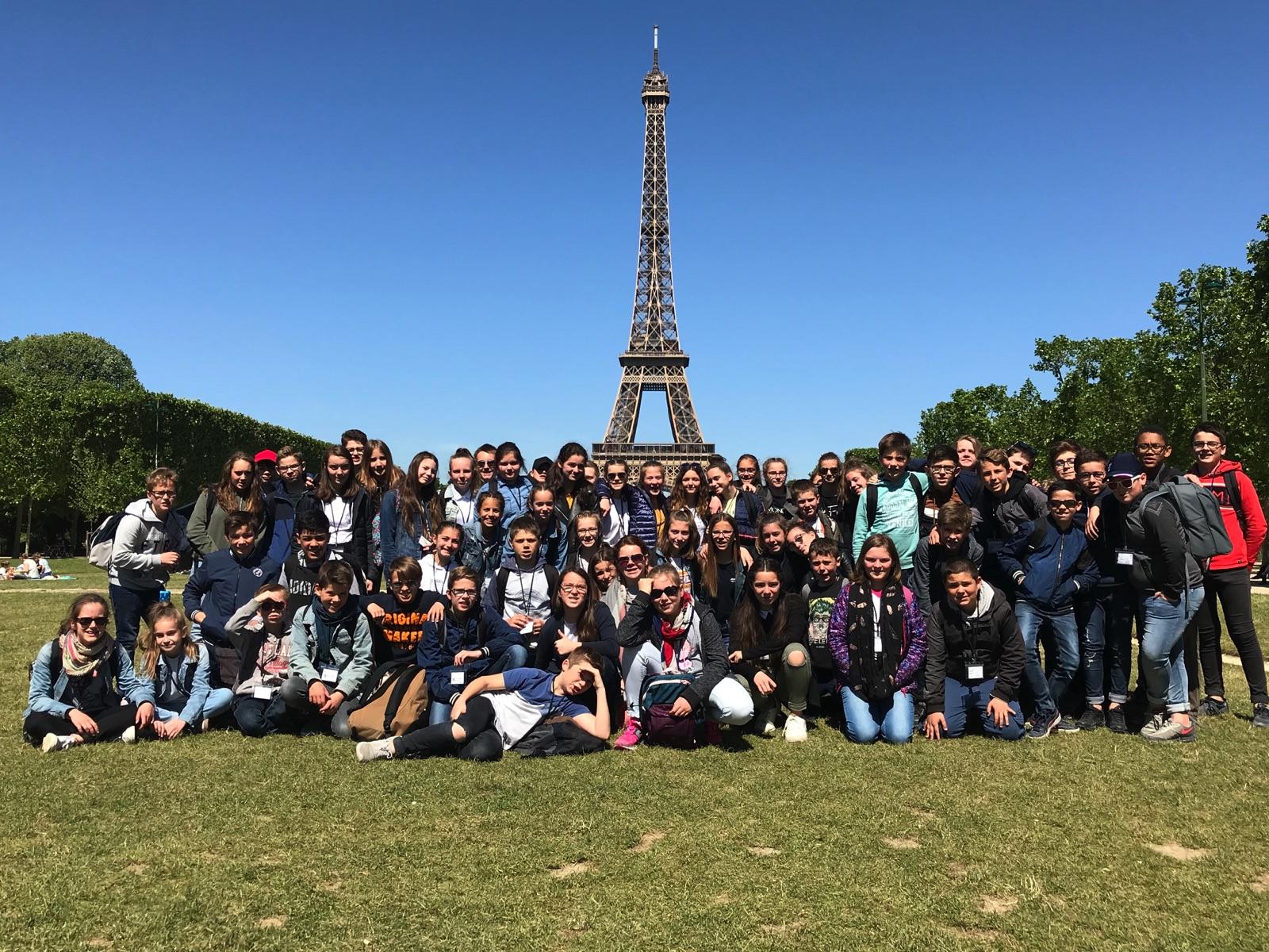 VOYAGE A PARIS JOUR 3