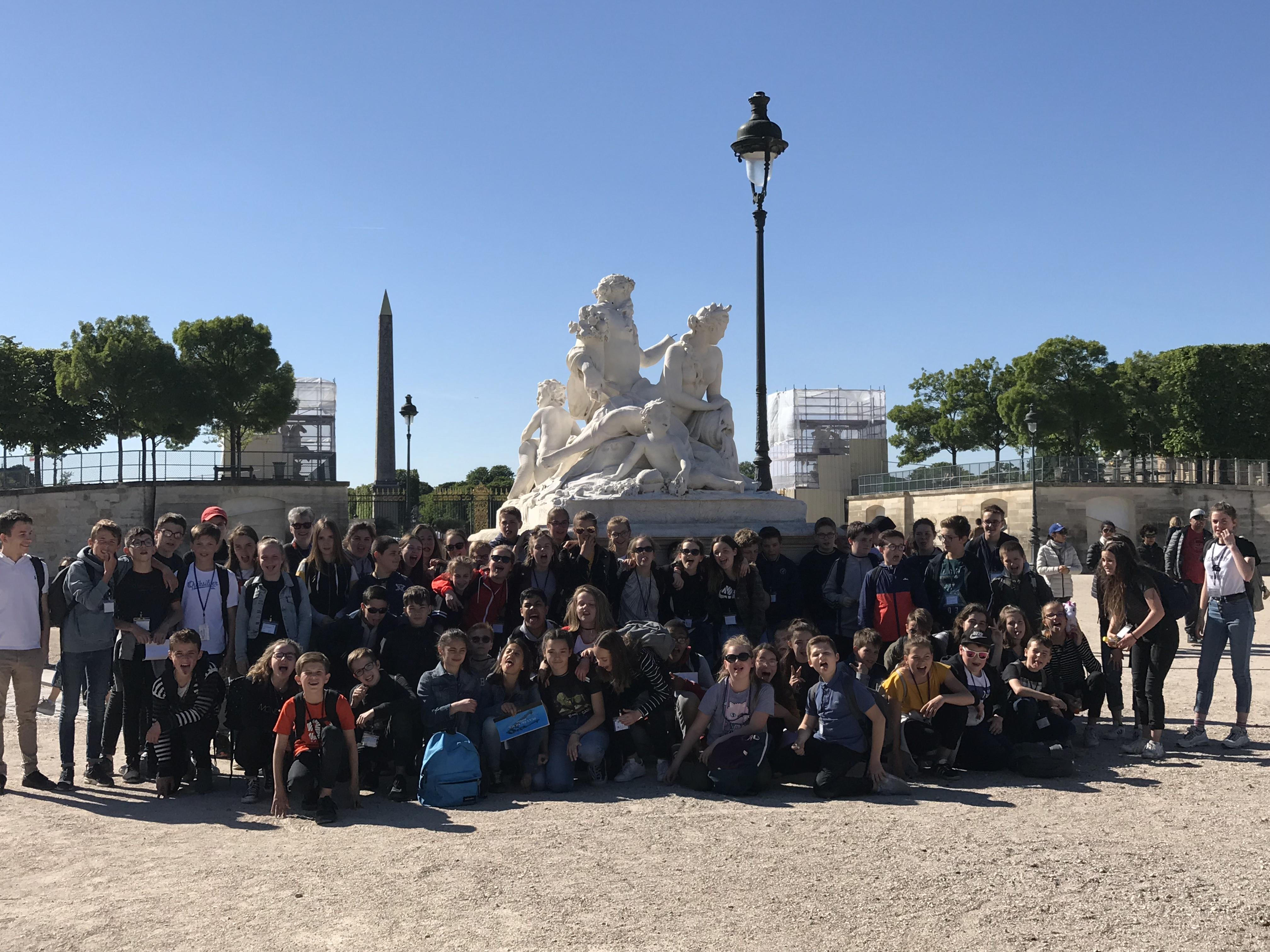 VOYAGE PARIS JOUR 1