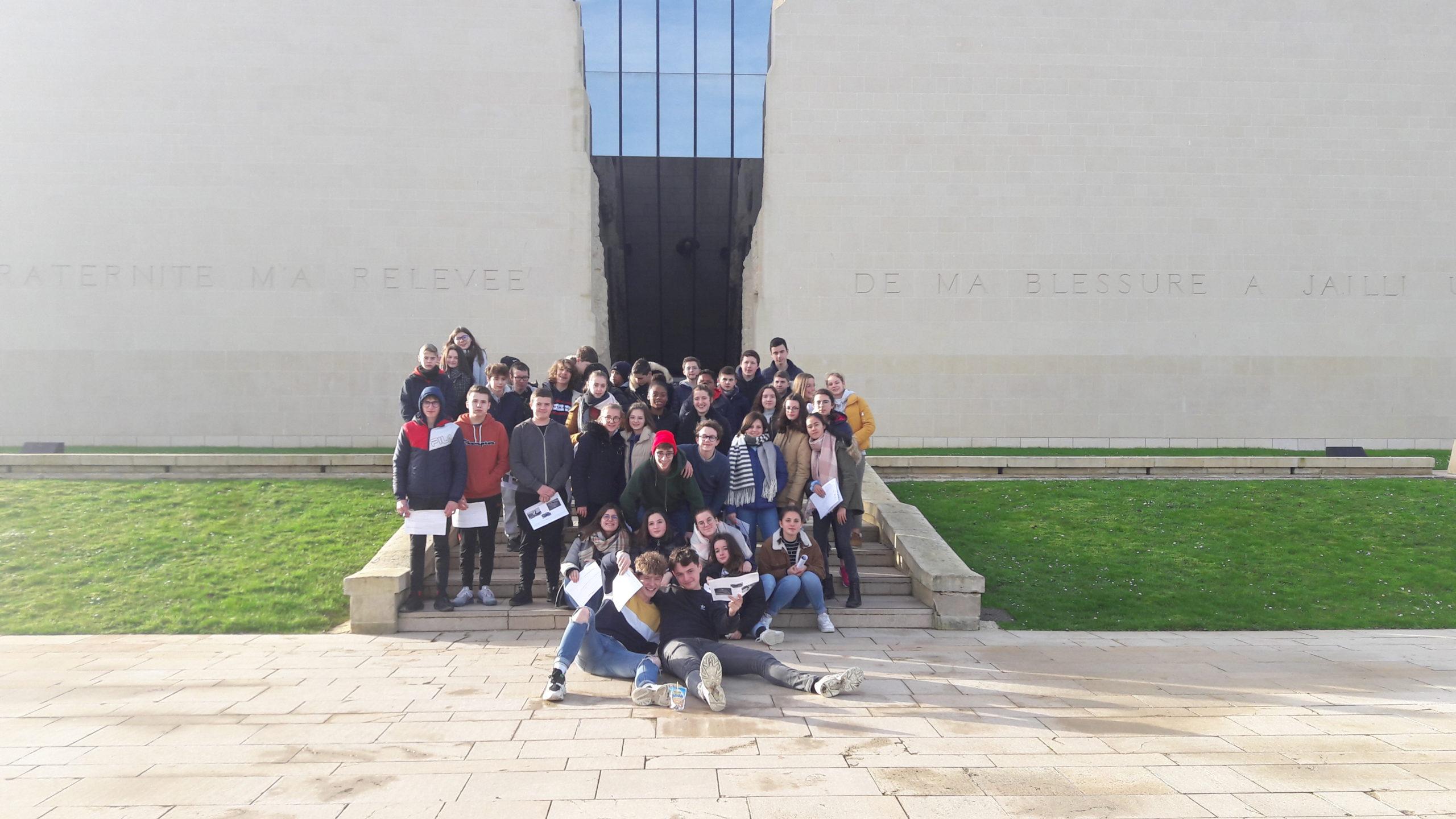 Mémorial de Caen pour le niveau 3ème